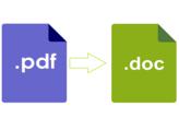Comment convertir un fichier PDF en Word ?