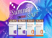 Soldes d'été: Windows 10 (Authentique à vie) pour 12 € seulement, Office 2019 35 € seulement, et plus encore !
