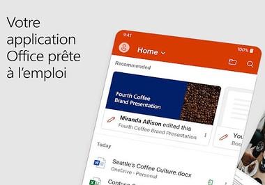 Comment scanner ses documents avec Office Mobile ?