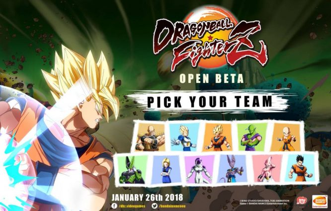 Dragon Ball Fighterz - Bêta ouverte