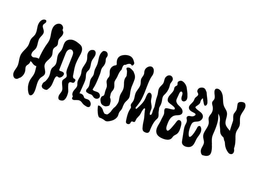 Pochoir Halloween