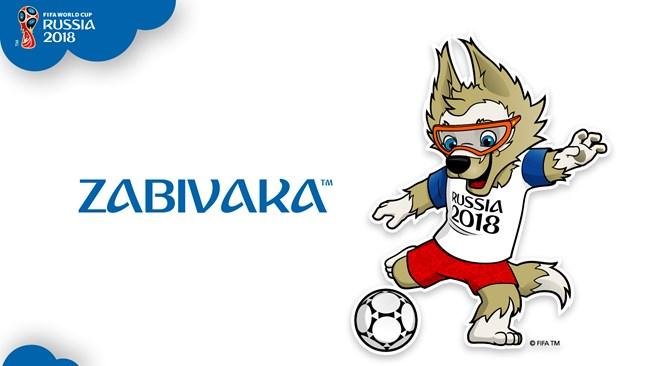 Mascotte de la Coupe du monde 2018 Zabivaka