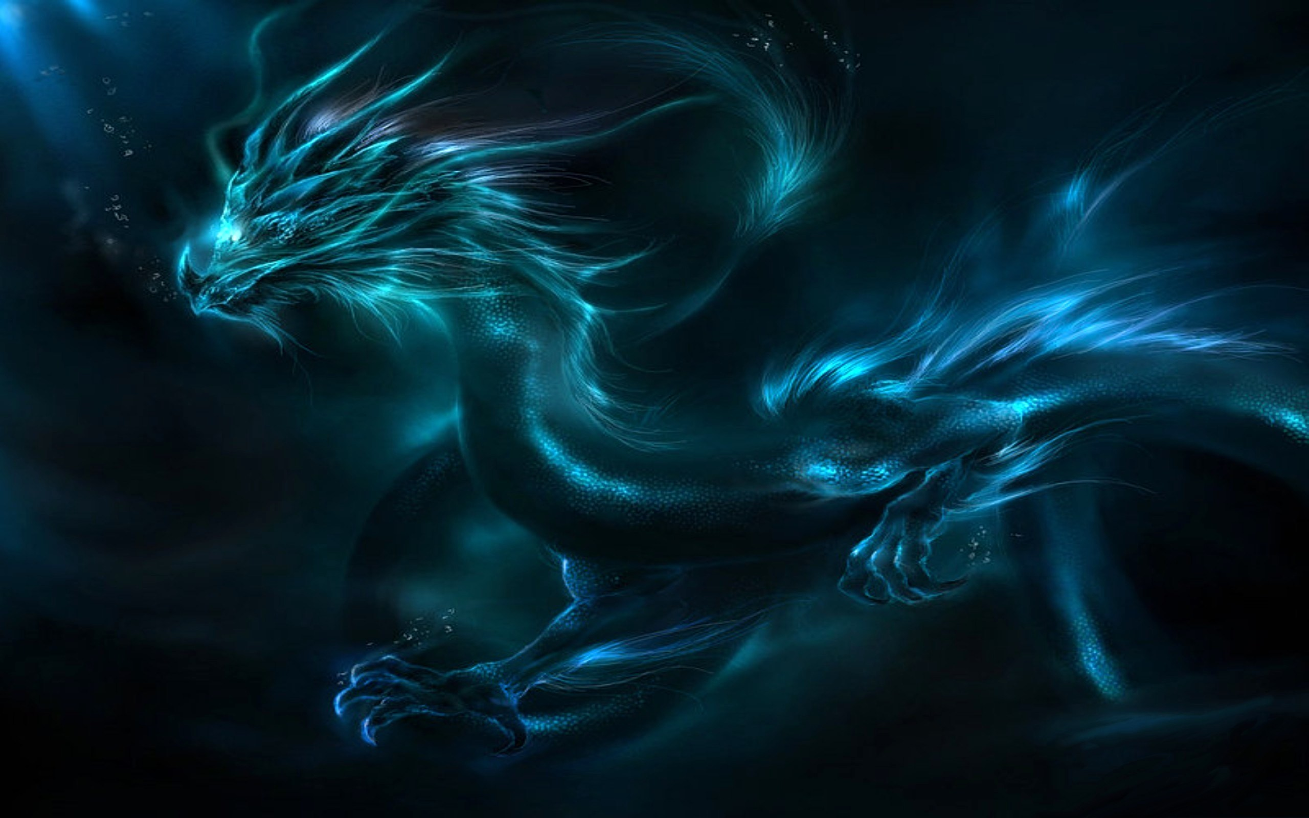 fond d'ecran dragon