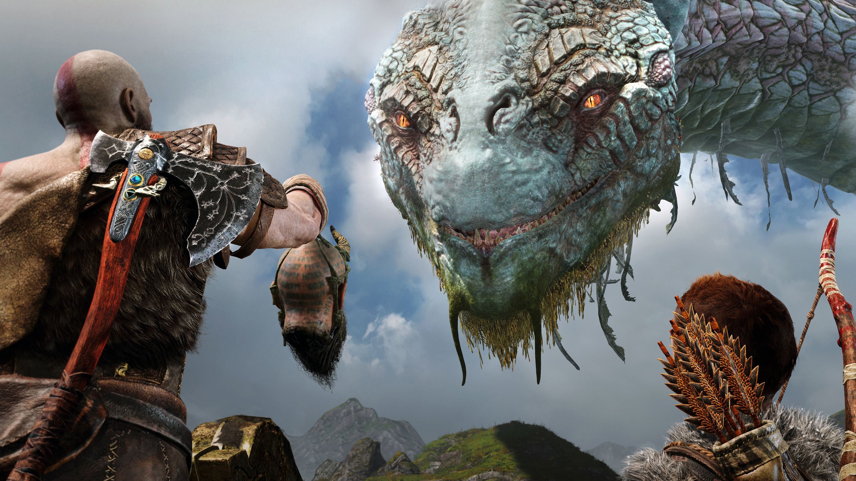 Créature God Of War 4
