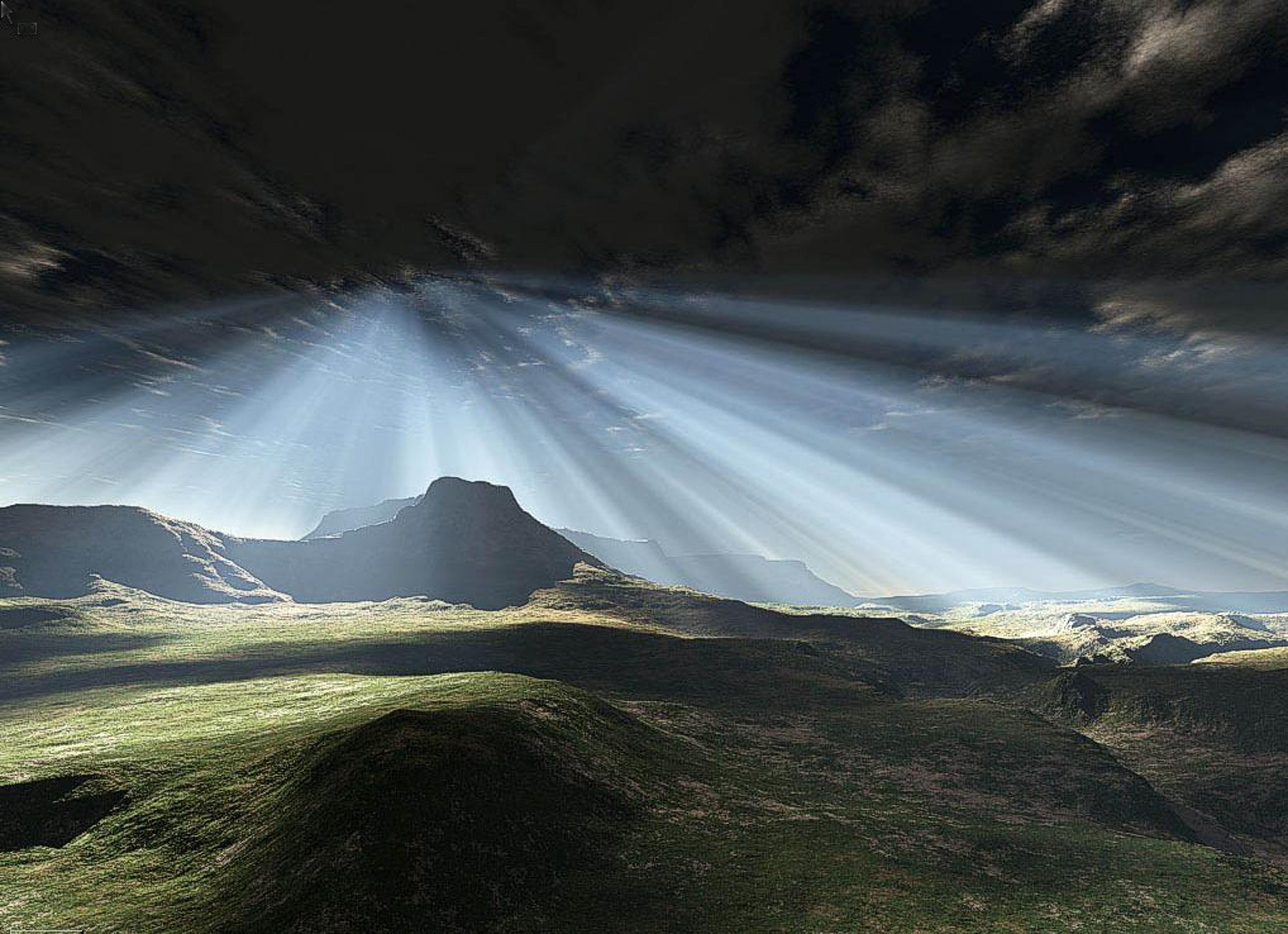 Image rayons des cieux - raycie