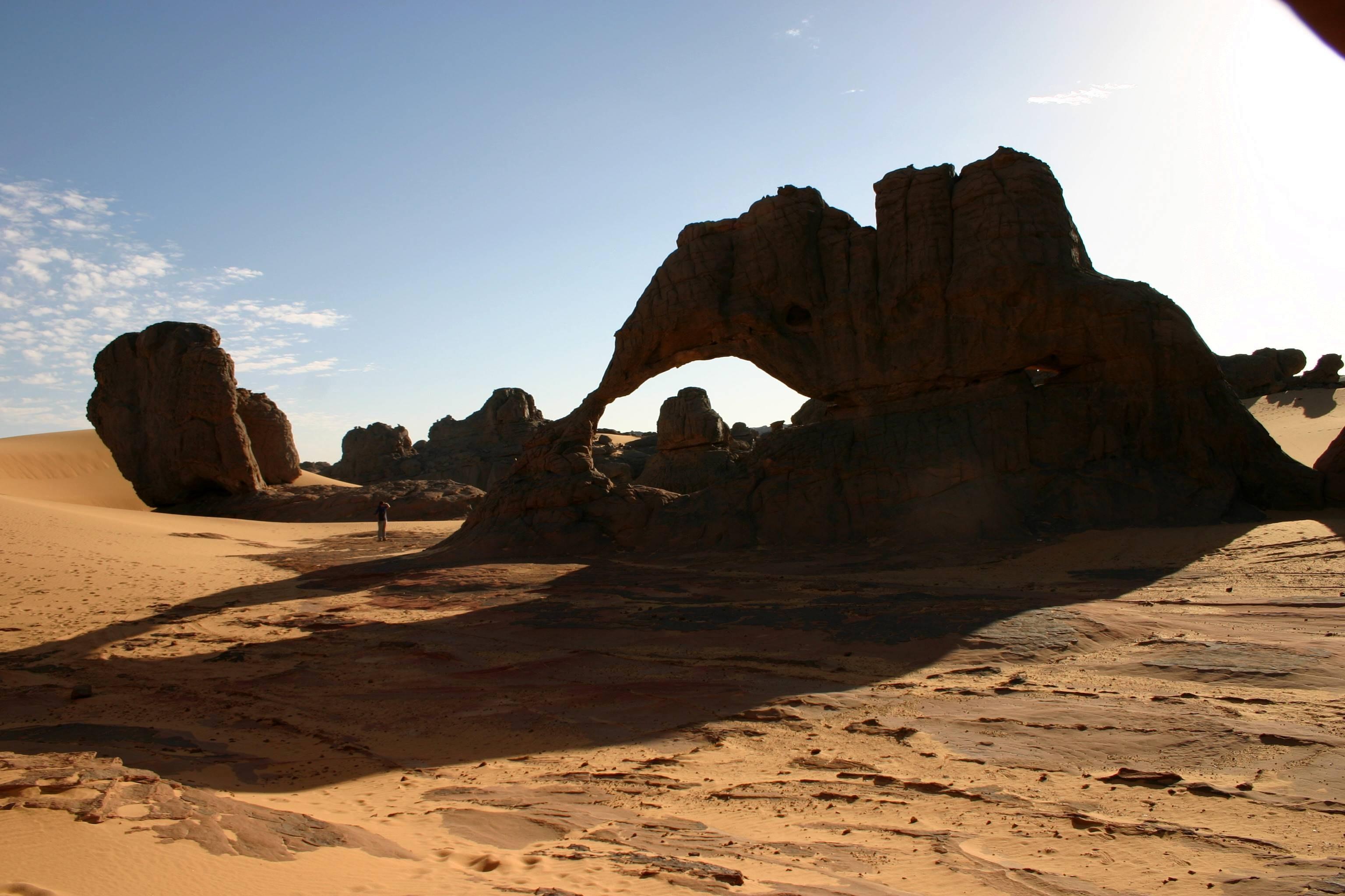 Sahara d'algerie