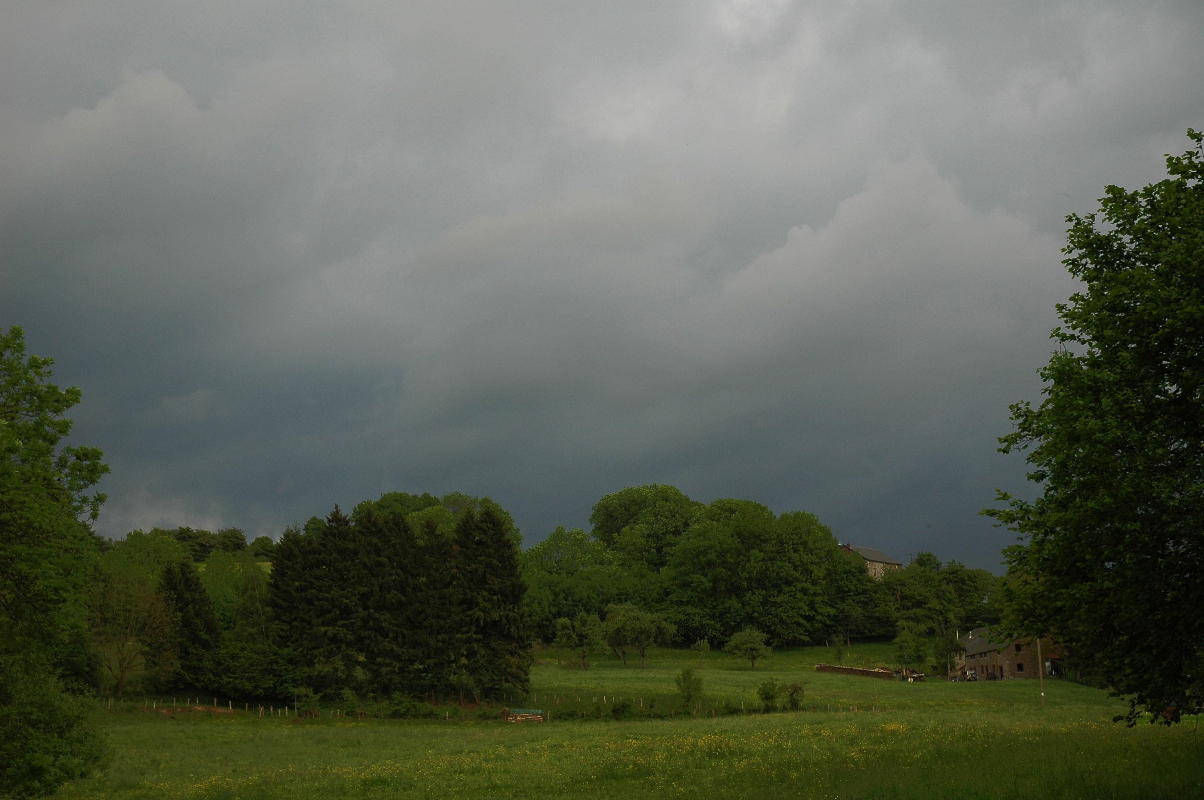 Avant un bel orage
