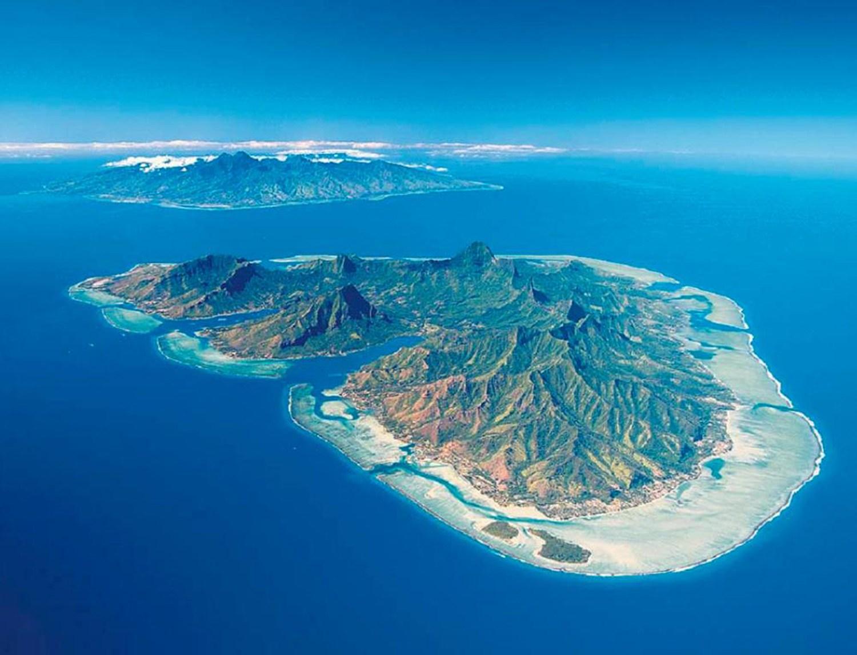 Image île polynésienne - ilepol