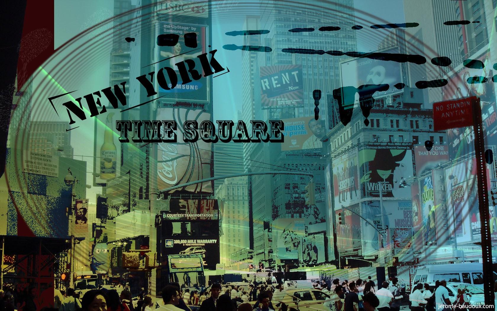 T l charger fonds d 39 cran new york time square gratuitement for Photo ecran times square