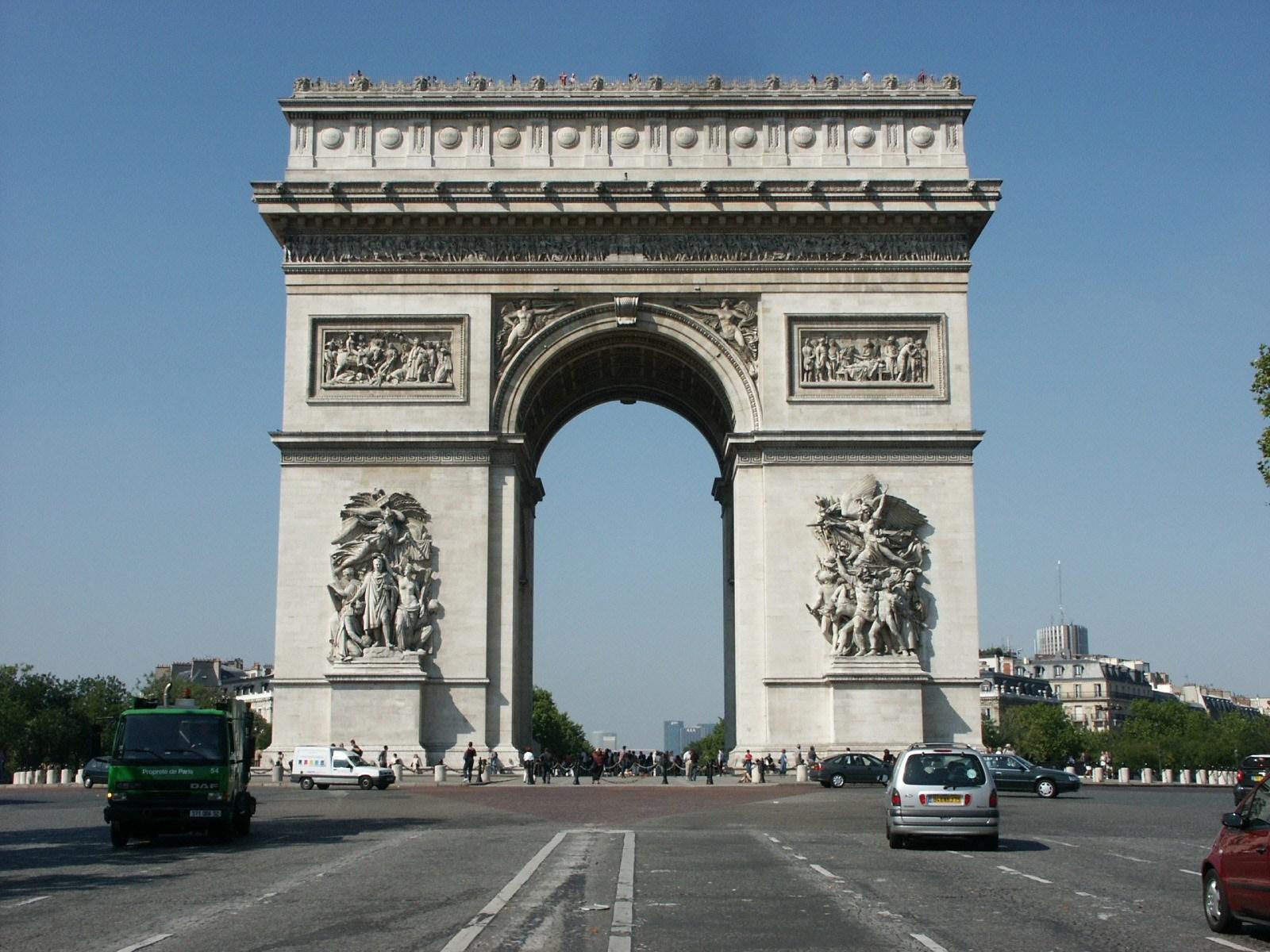 Arc De Triomphe Paris: Tham Sayasthsena Patuxai (ປະຕູໄຊ