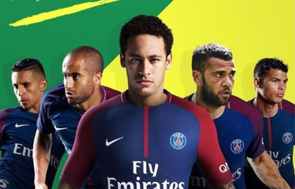Image Representant Le Sport >> Télécharger fonds d'écran neymar au psg gratuitement