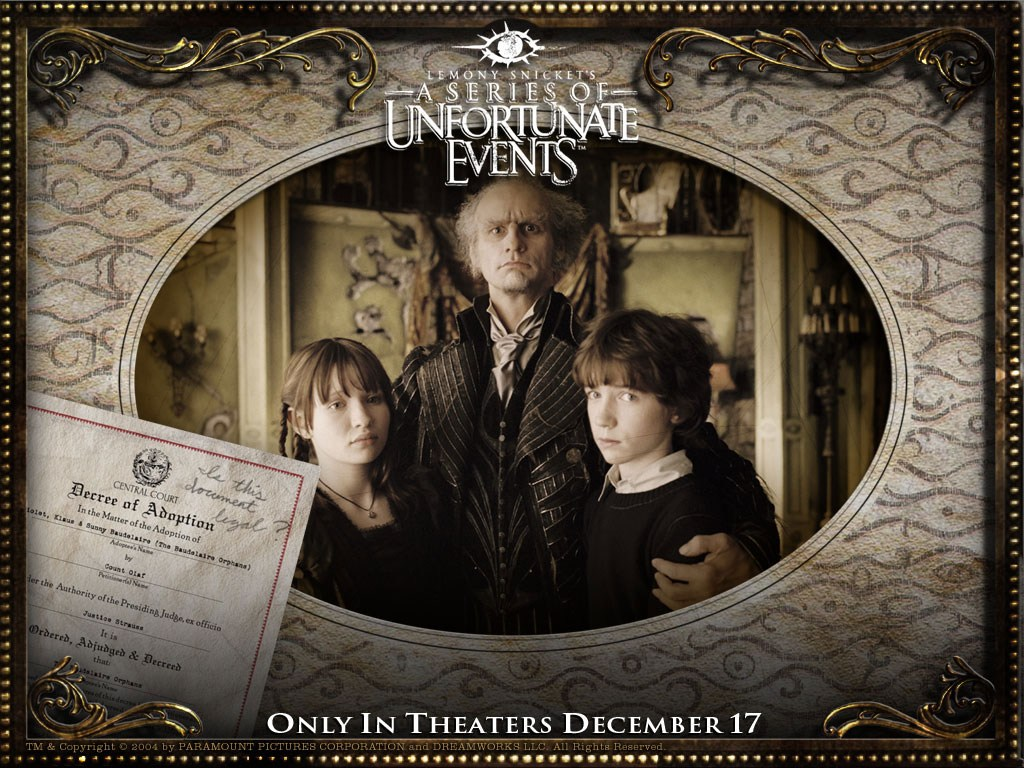 A series of Unfortunate events - A series of Unfortunate events