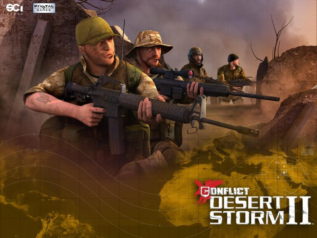 Image conflict desert storm 3 - jeux jeu vidéos vidéo