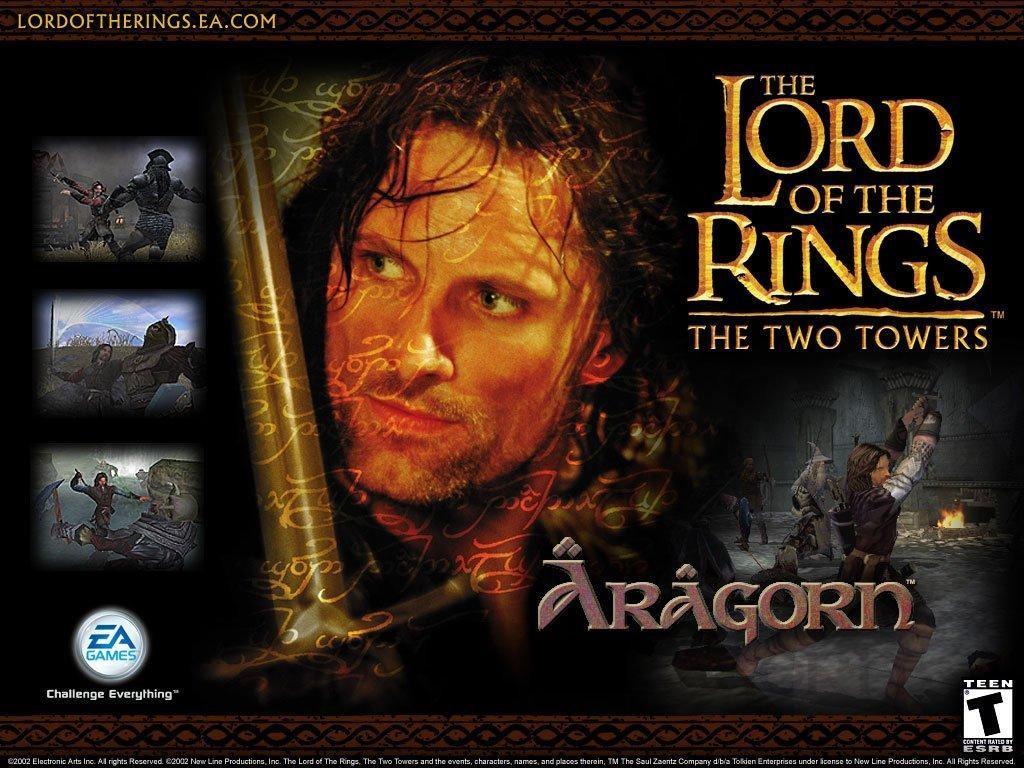 Image le seigneur des anneaux les 2 tours - jeux jeu vidéos vidéo