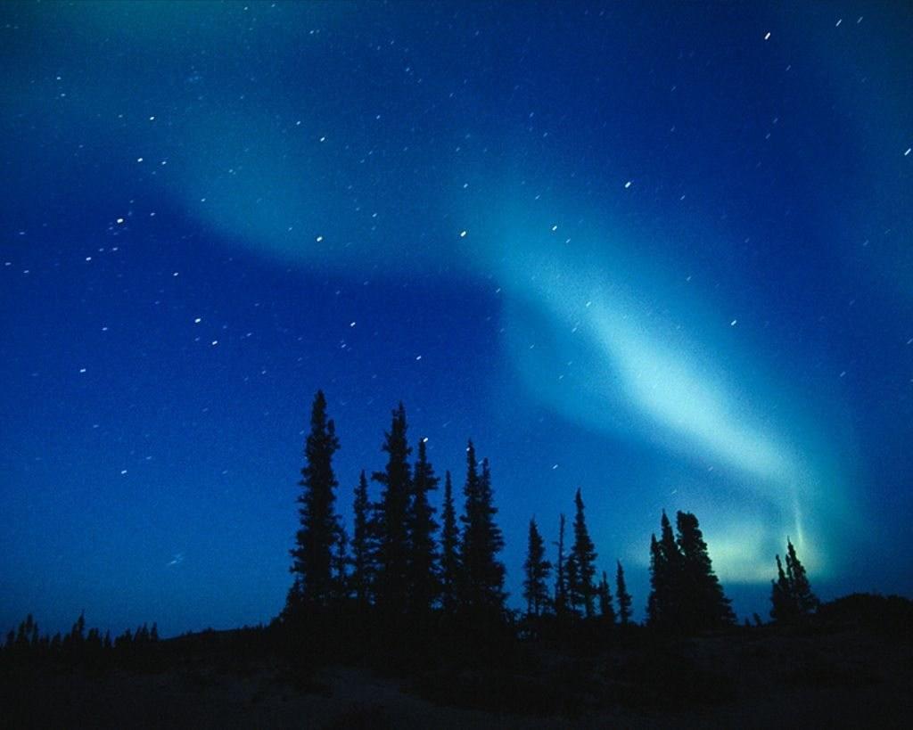 Image aurore boréale - nature