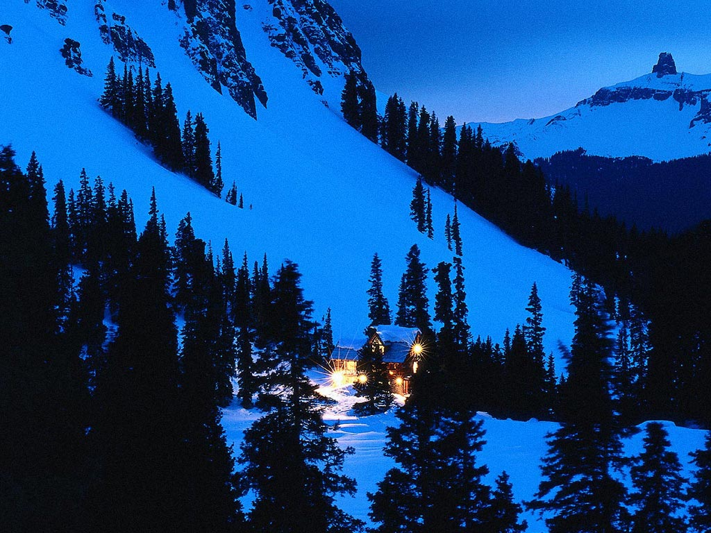 pin paysages montagne fond - photo #26
