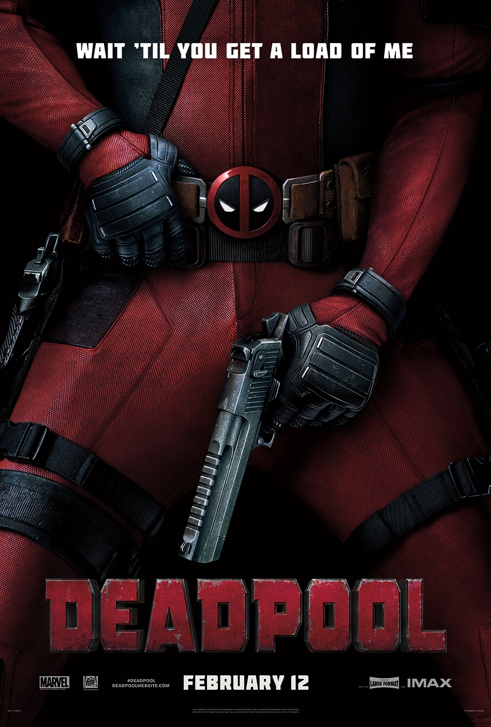 Deadpool affiche officielle
