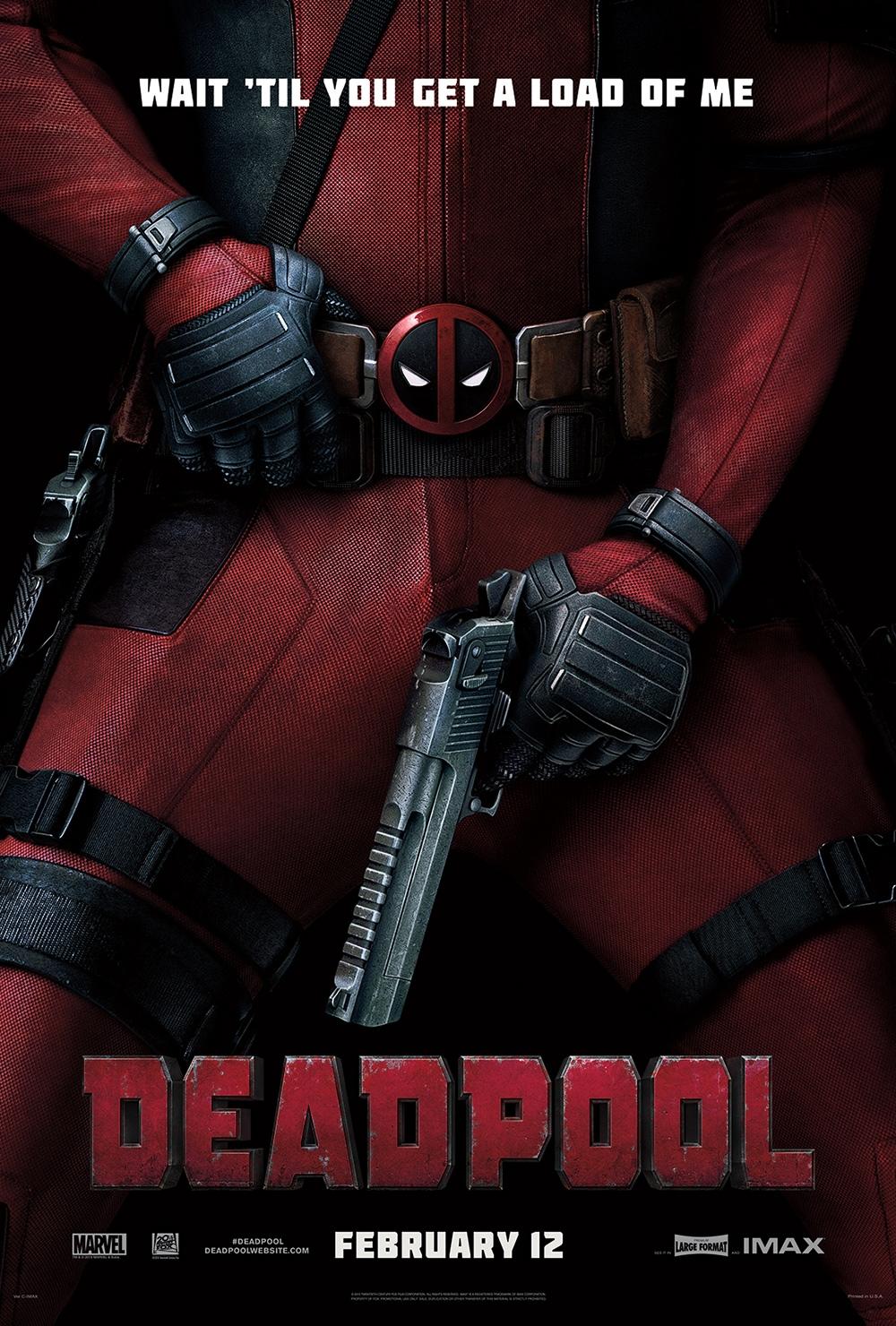 Deadpool affiche officielle