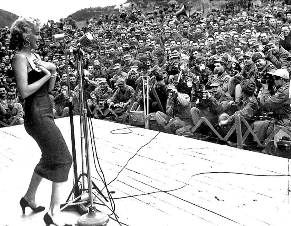 Marilyn en Corée
