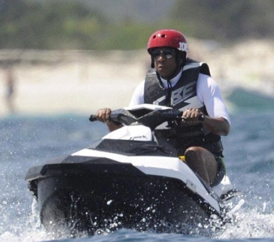 Jay-Z jet ski