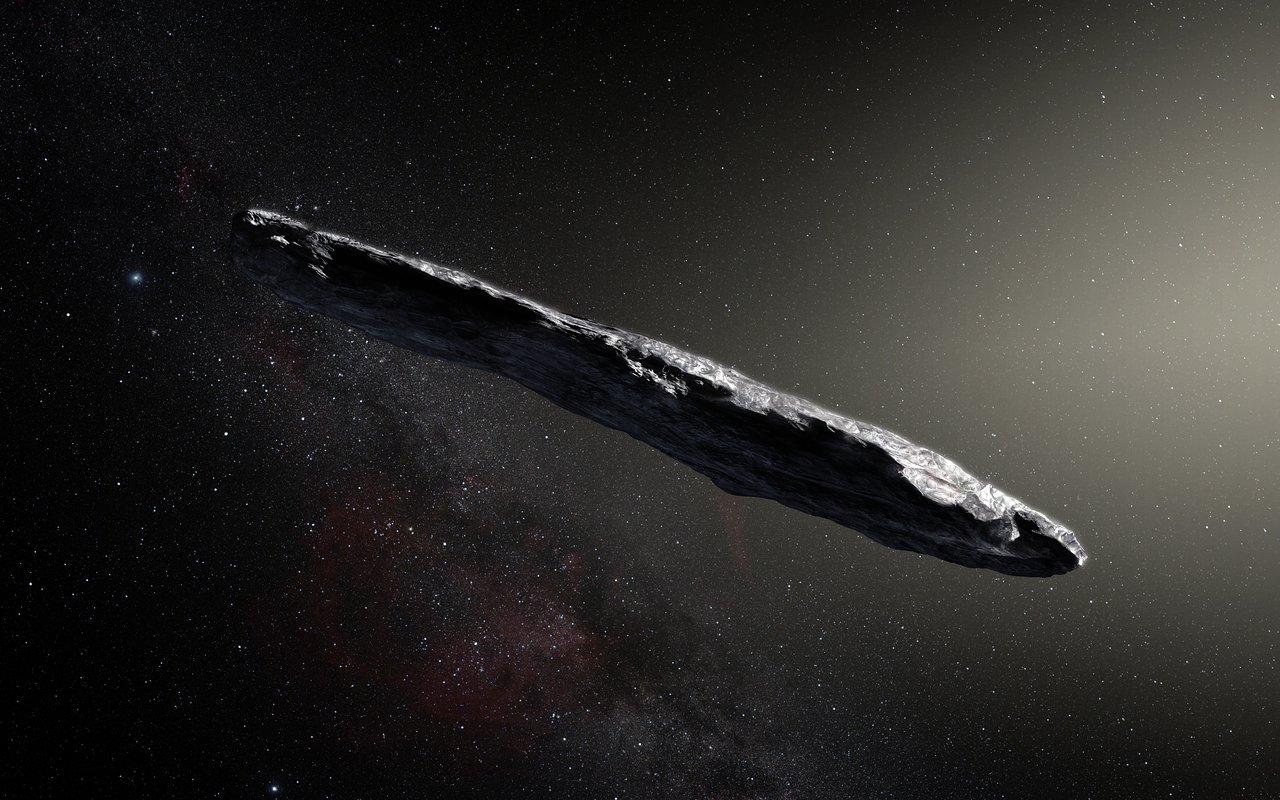 Le premier astéroïde interstellaire observé