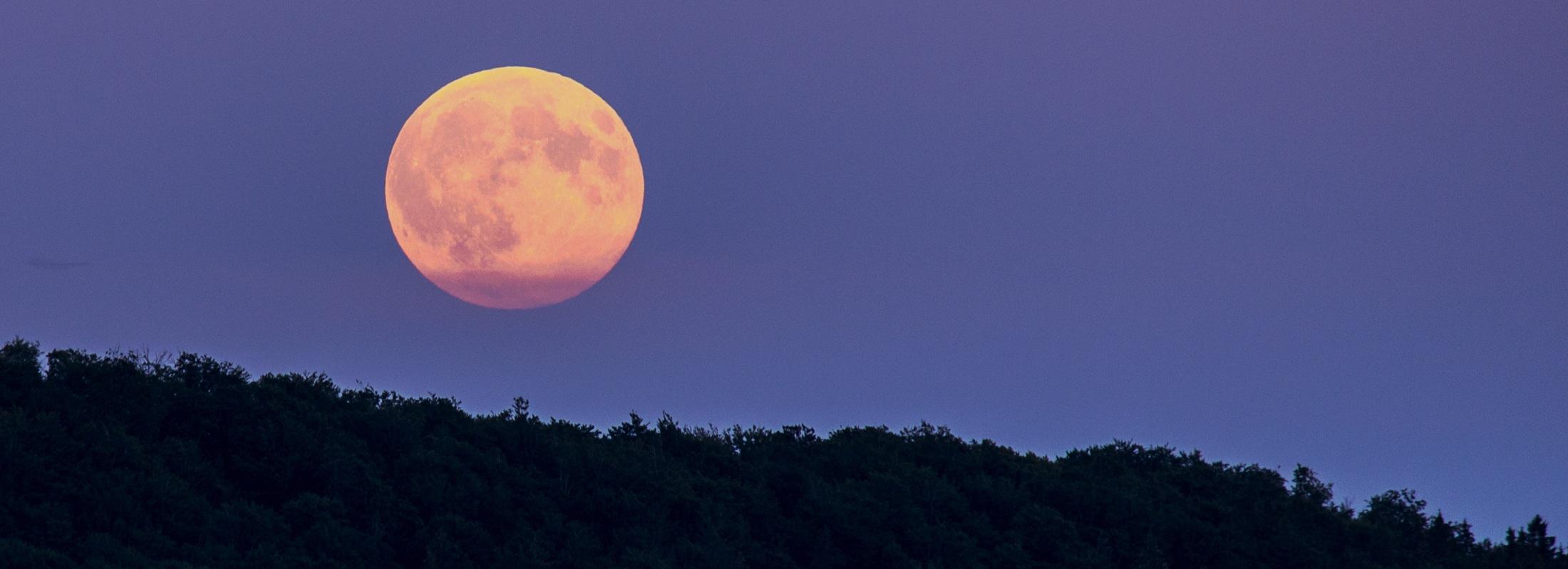 Panoramique Super Lune