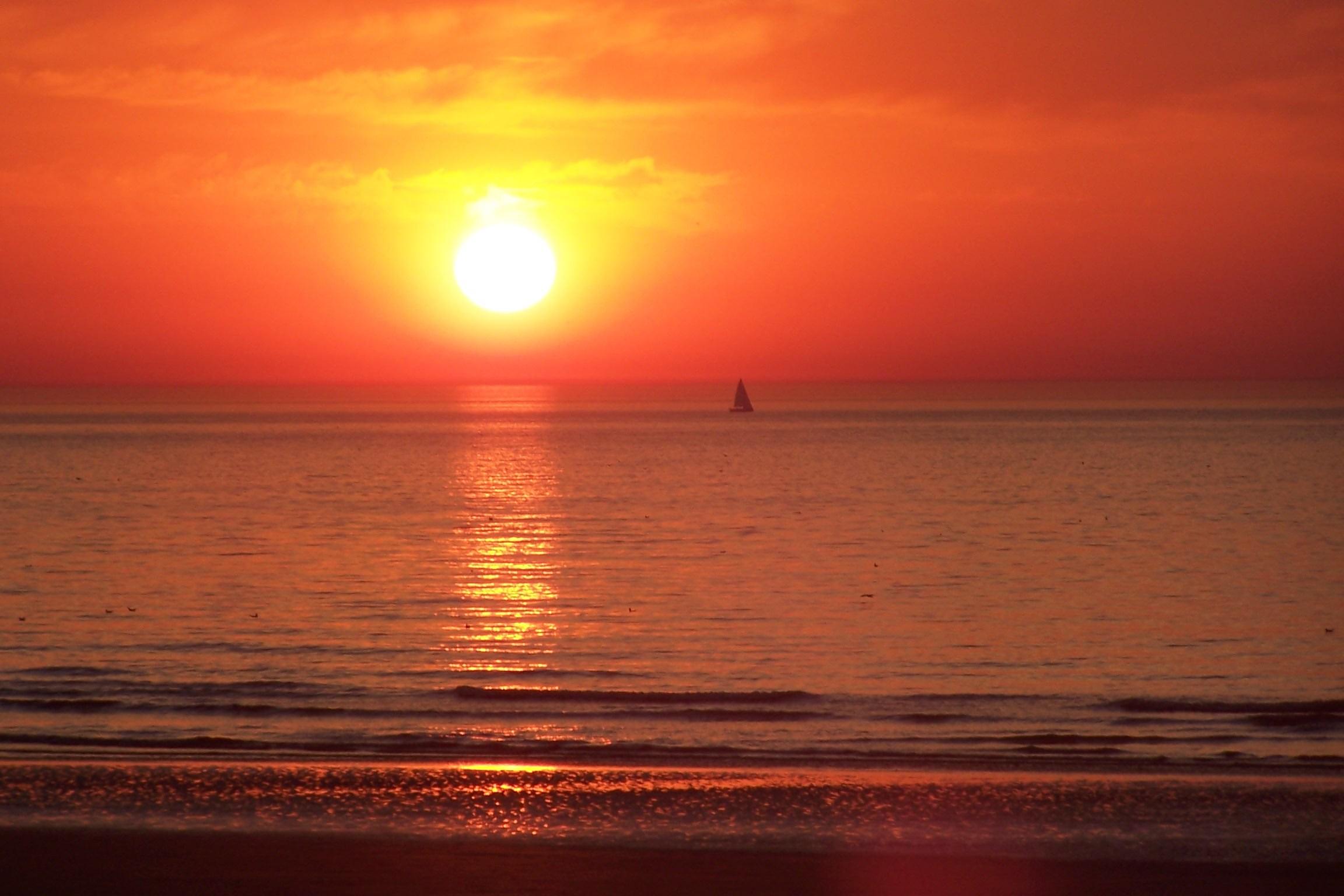 T l charger photos coucher de soleil gratuitement - Fond ecran coucher de soleil sur la mer ...
