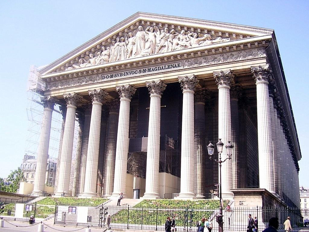 Image paris la madeleine - Monument la madeleine ...