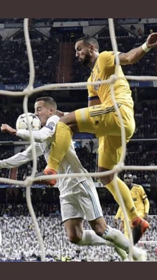 Benatia Vazquez Real Madrid - Juventus de Turin