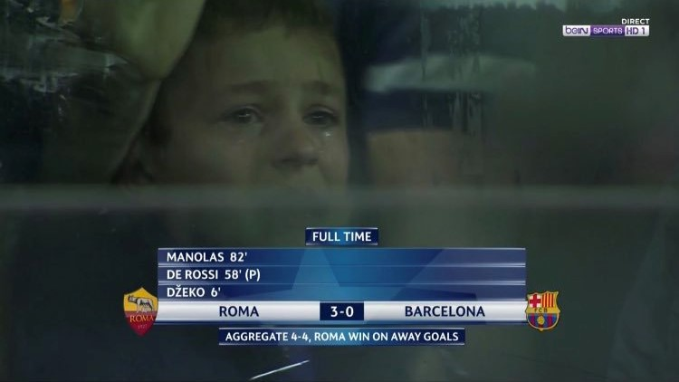 Enfant qui pleure Romatada