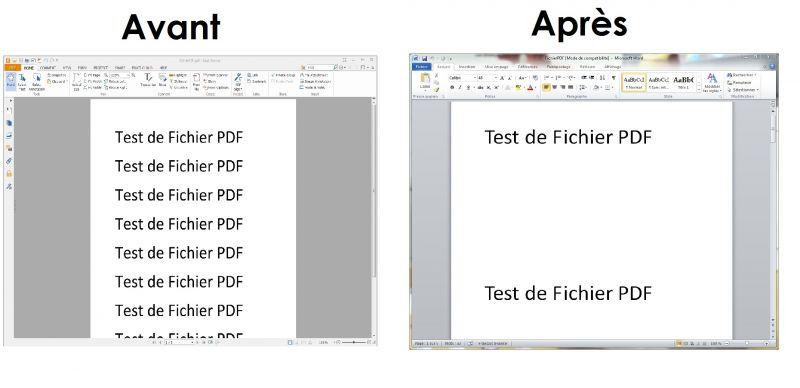 Comment convertir un fichier pdf en word - Convertir fichier pdf en open office ...