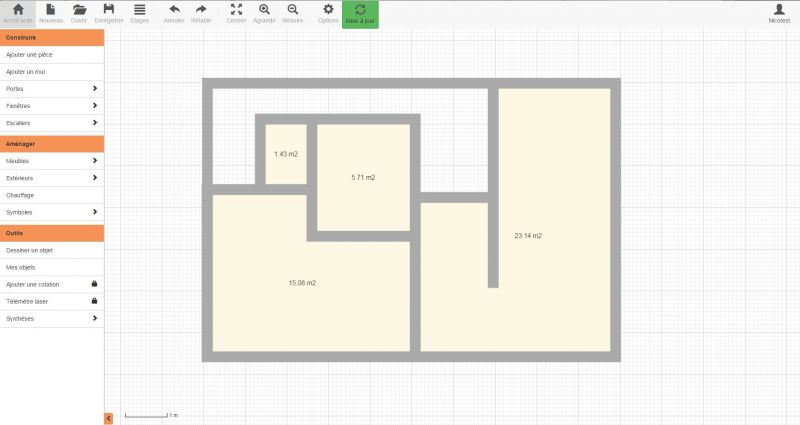 Dessiner plans maison excellent wonderful logiciel pour for Dessiner un plan