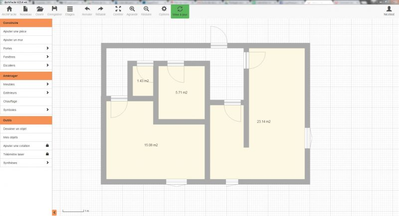 Comment Dessiner Le Plan De Sa Maison Avec Archifacile