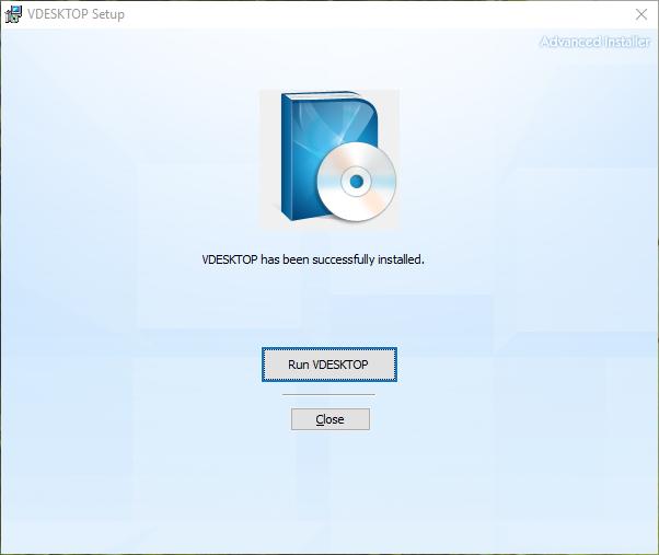 vdesktop run