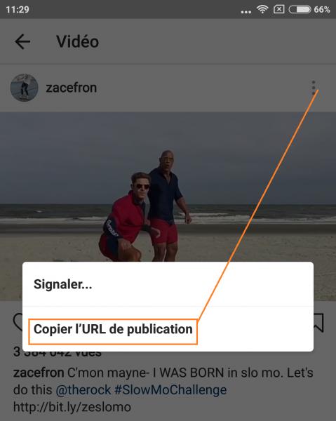 appli pour telecharger video sur instagram