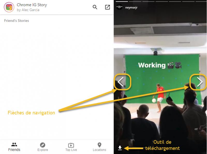 Comment télécharger des Stories Instagram depuis son smartphone ou