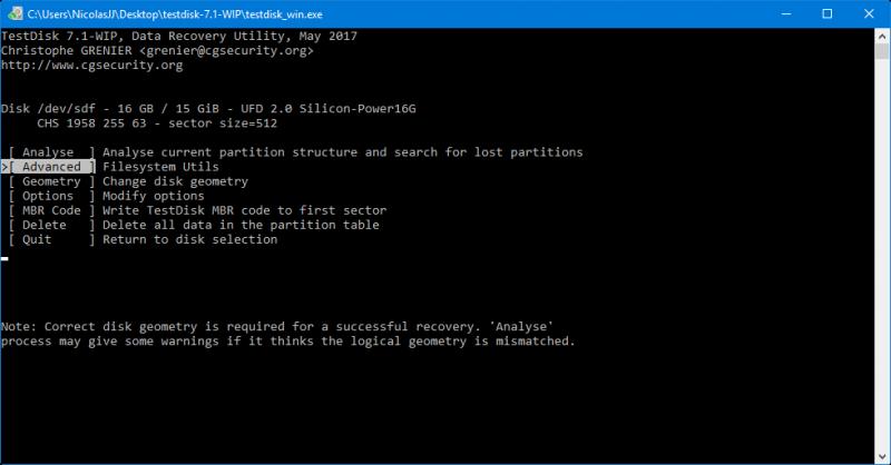 Comment r parer un disque dur et r cup rer ses donn es - Reparer table de partition disque dur ...
