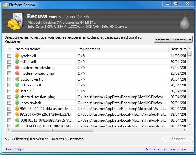 recuperation-fichiers-recuva