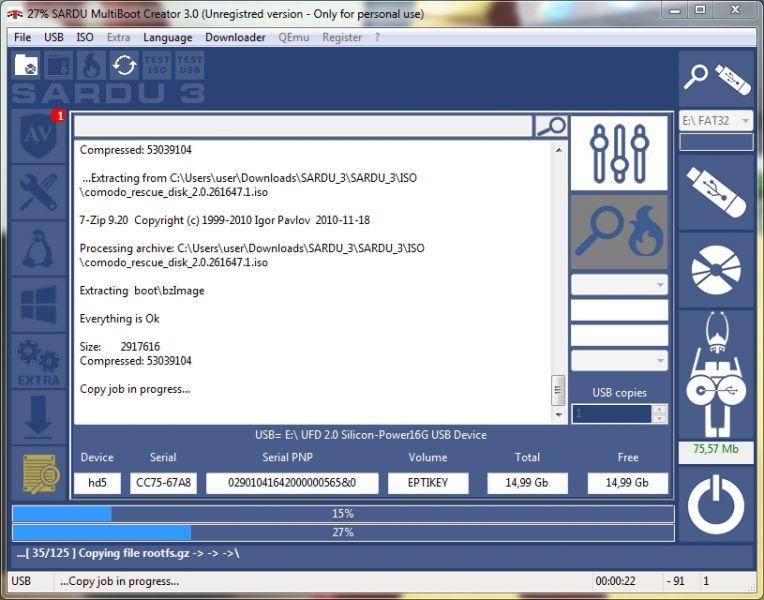 COMMENT CRÉER UNE CLÉ USB DE SECOURS ? Etape%207