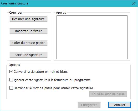 comment ajouter une signature dans un document pdf