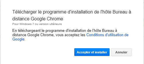 COMMENT CONTRÔLER UNE MACHINE À DISTANCE AVEC CHROME? 03%20installer%20h%C3%B4te