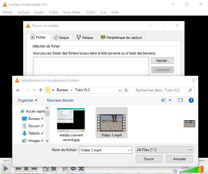 VLC : COMMENT CONVERTIR DES FICHIERS AUDIO OU VIDÉO ? Ajouter%20fichier