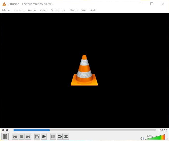 VLC : COMMENT CONVERTIR DES FICHIERS AUDIO OU VIDÉO ? Conversion%20en%20cours