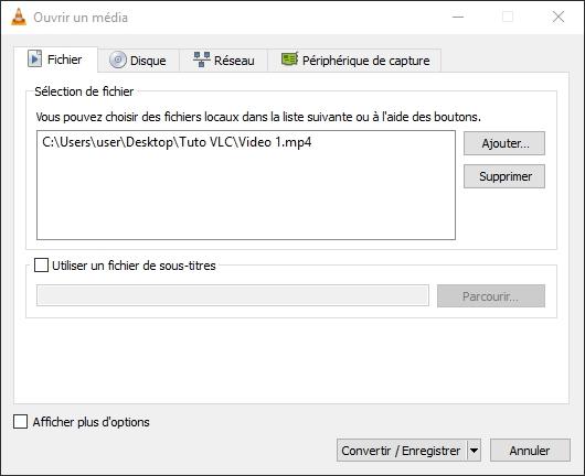 VLC : COMMENT CONVERTIR DES FICHIERS AUDIO OU VIDÉO ? Convertir%20enregistrer