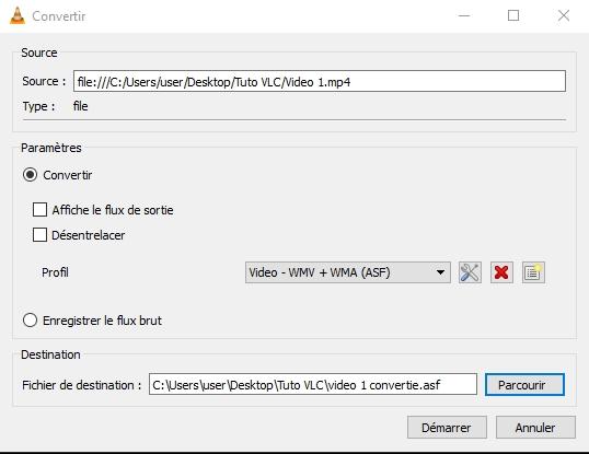 VLC : COMMENT CONVERTIR DES FICHIERS AUDIO OU VIDÉO ? D%C3%A9marrer%20conversion