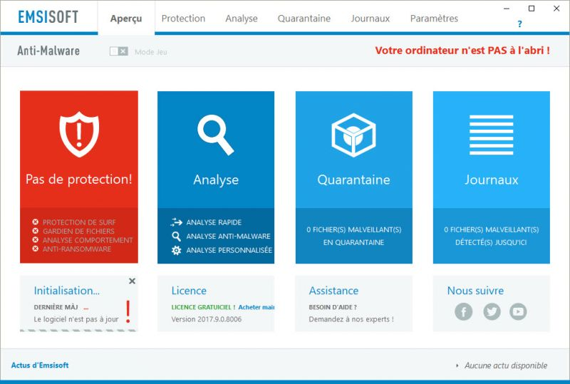 LES ALTERNATIVES À MALWAREBYTES ANTI-MALWARE EMSISOFT%20AM