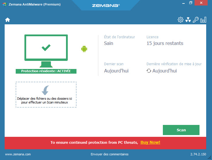 LES ALTERNATIVES À MALWAREBYTES ANTI-MALWARE ZEMANA