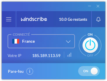 Windscribe VPN France