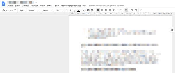 comment ouvrir un document word avec google docs