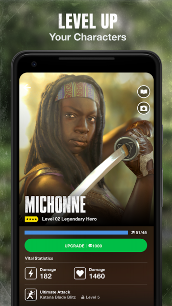 Michonne TWD our world